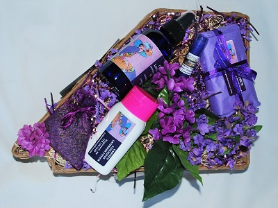 Made in Nevada Soothing Lavender Gift Basket