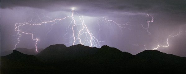 """Made in Nevada """"Summer Storm"""" – Color Photographic Print"""