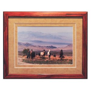 Made in Nevada Wild Horses at Cold Creek, NV – Framed print