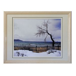 Made in Nevada At Storm's Gate, Lake Tahoe, NV – Framed print