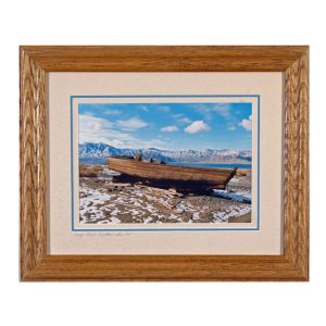 Made in Nevada Carp Boat, Walker Lake, NV – Framed Print