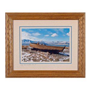 Made in Nevada Carp Boat, Walker Lake, NV – Framed Print