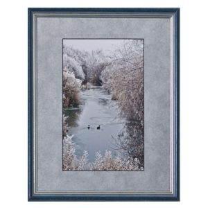 Made in Nevada Frosty Stream – Framed Print