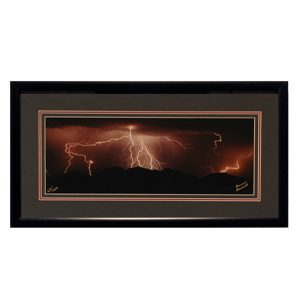 Made in Nevada Summer Storm – Framed print