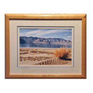 Made in Nevada Ancient Shores, Walker Lake, NV – Framed print