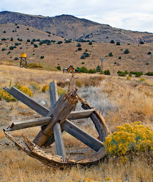 """Made in Nevada """"Western Homestead"""" – Color Photographic Print"""