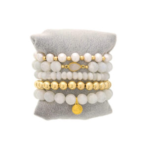 Made in Nevada Wisdom & Strength Bracelet Stack