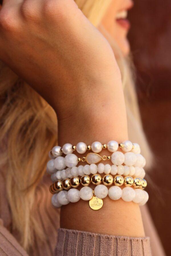 Made in Nevada Wisdom & Strength Bracelet Stack