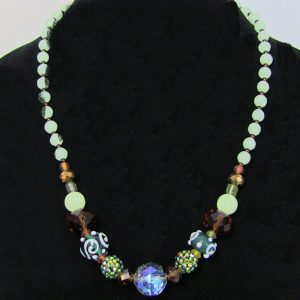 Made in Nevada Austrian Beads and Crystals Necklace by Soul & Spirit Jewelry