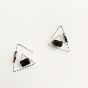 Made in Nevada Kiara Triangle Earrings