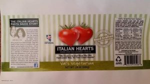 Made in Nevada Val's Vegetarian Gourmet Sauce