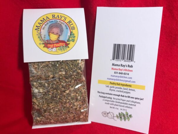 Made in Nevada Mama Ray's Poultry Rub – Packet