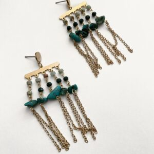 Made in Nevada Serena Turquoise Earrings