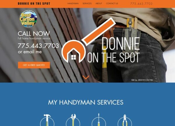 Made in Nevada Professional Website Design for Products or Services