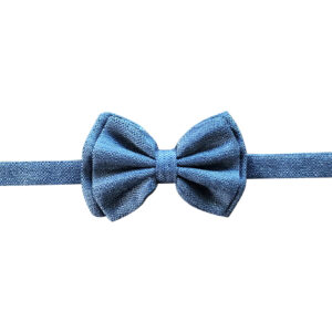 Made in Nevada Grey wool bowtie