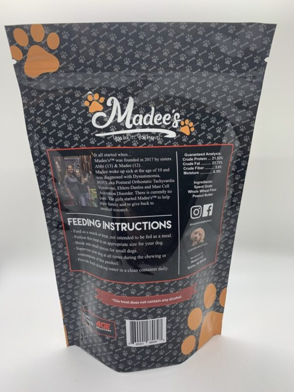 Made in Nevada Tipsy Pooch Beer Grain Dog Treats