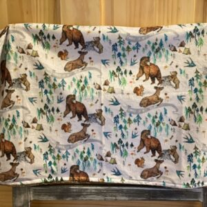 Made in Nevada Wild Child Baby Blanket in Minky