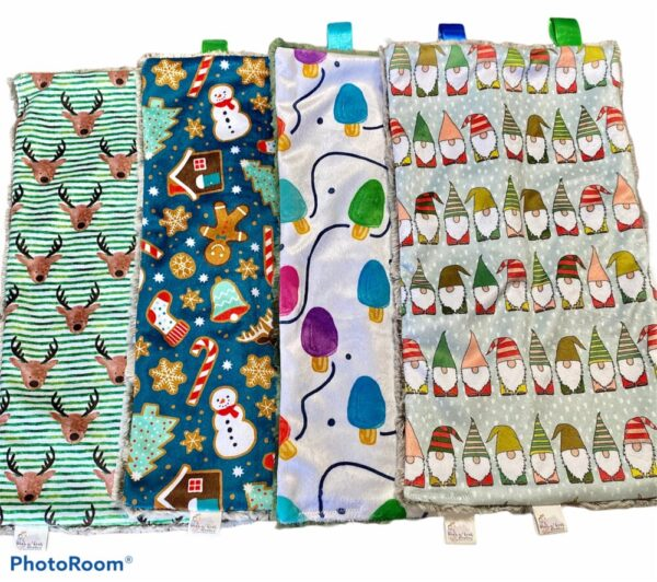 Made in Nevada Holiday Minky Lovies – Perfect Stocking Stuffers