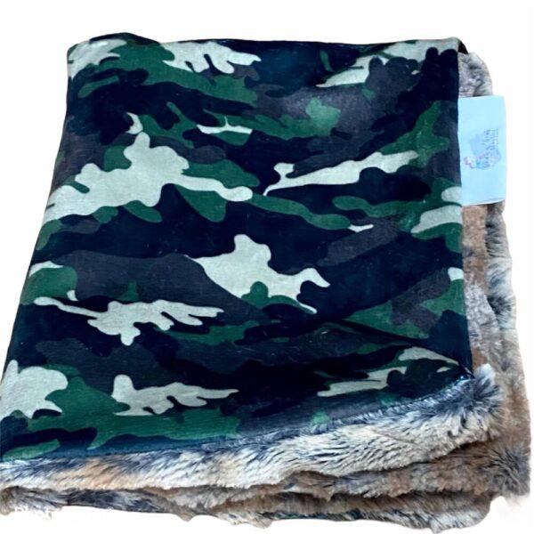 Made in Nevada Baby Lovie Blanket in Camouflage – Large