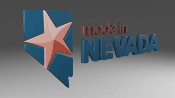 Made in Nevada 3D Logo Conversion