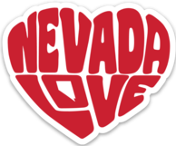 Made in Nevada Nevada Love Magnet