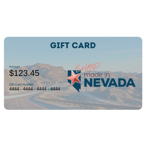 Made in Nevada Online Gift Card