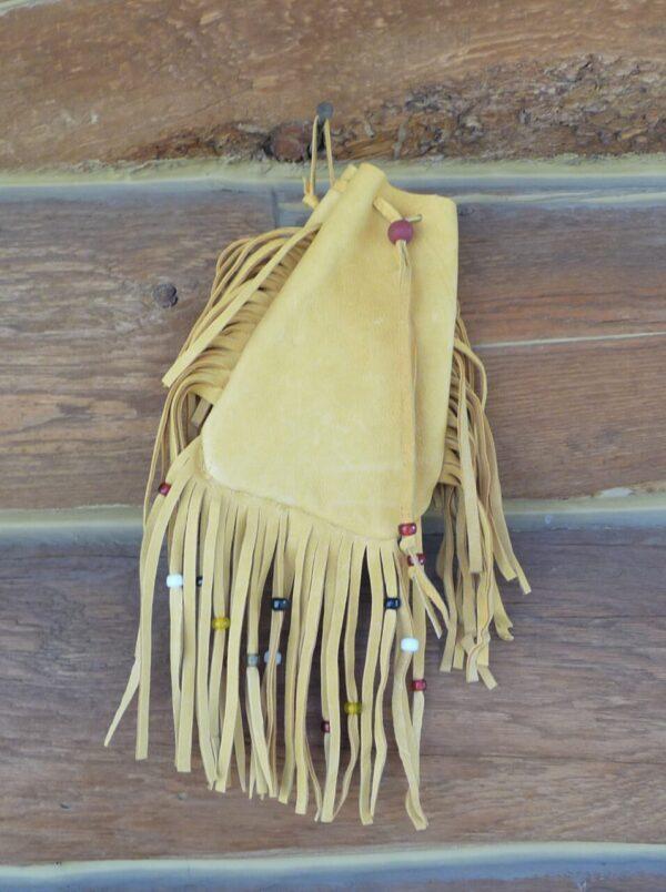 Made in Nevada Traditional Deerskin Bag