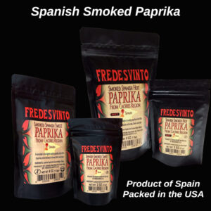 Made in Nevada Fredesvinto Ultra-Premium Spanish Smoked Paprika