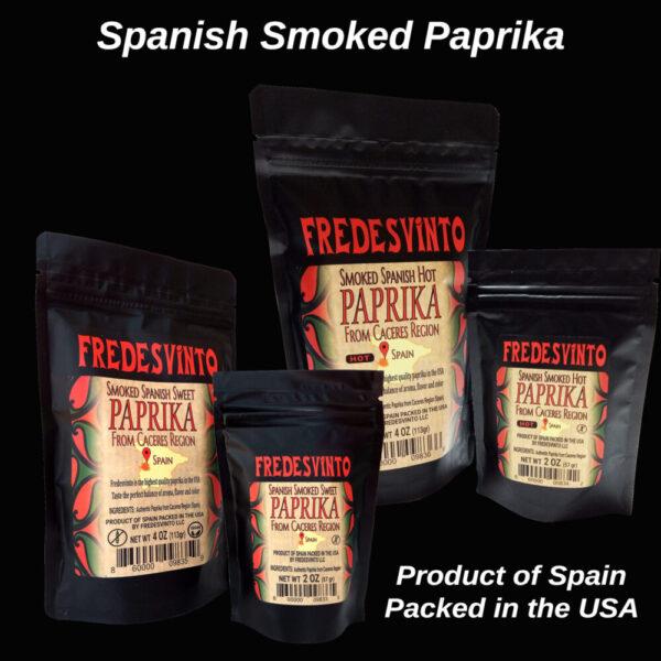 Made in Nevada Fredesvinto Ultra-Premium Spanish Smoked Paprika
