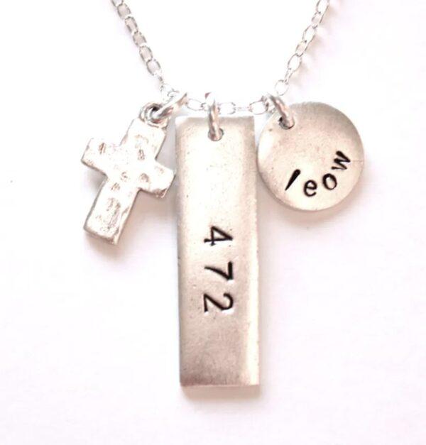 Made in Nevada LEOW Faith Necklace
