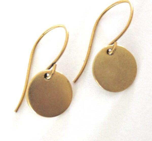 Made in Nevada Circle Earrings