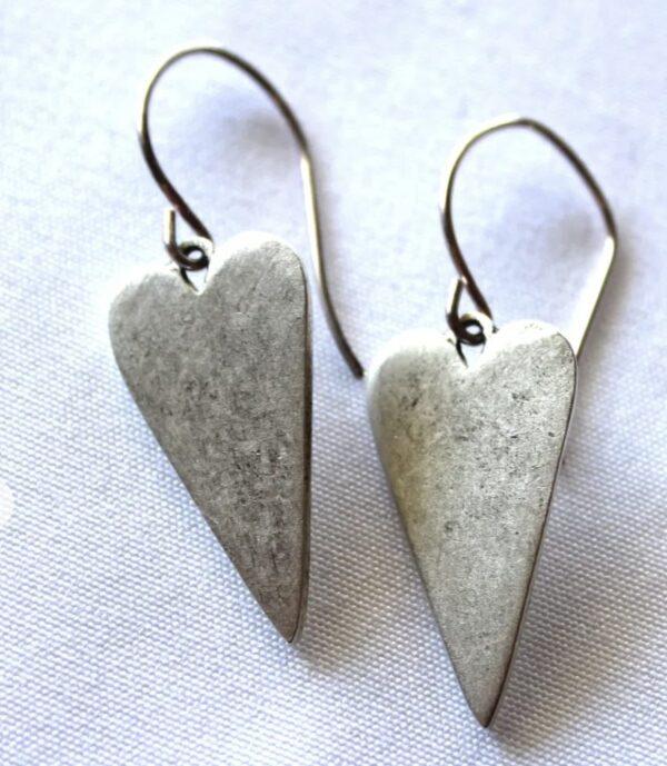 Made in Nevada Heart Earrings