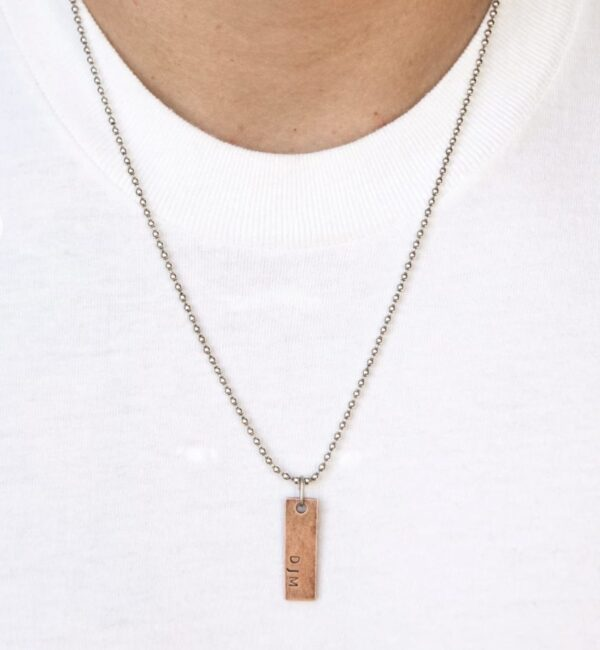 Made in Nevada PTH Ball Chain Necklace