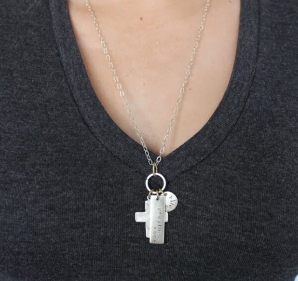 Made in Nevada Large Cross Chain Necklace