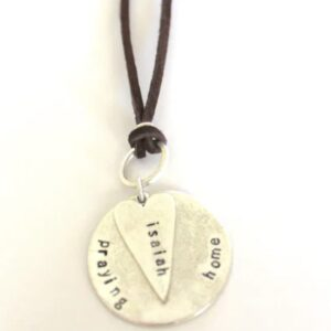 Made in Nevada PTH Custom Heart Necklace