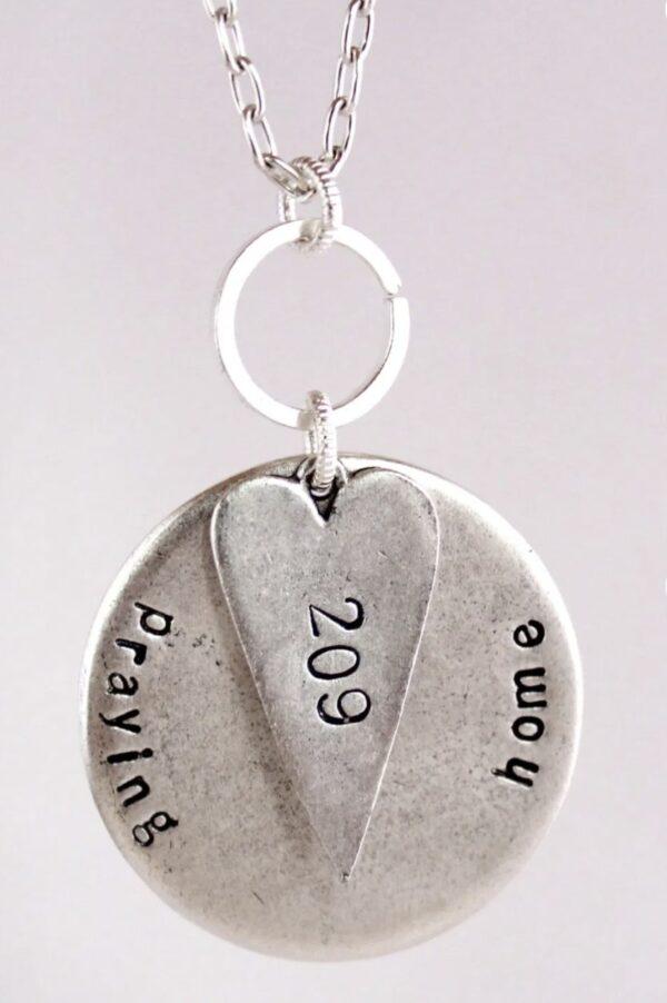 Made in Nevada PTH Custom Heart Necklace