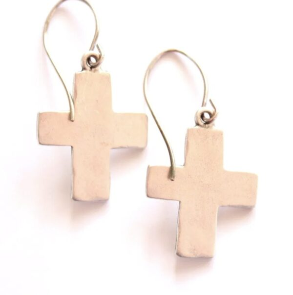 Made in Nevada Large Cross Earrings