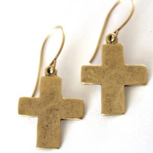 Large Cross Earrings on Shop Made in Nevada
