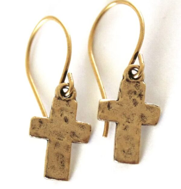 Made in Nevada Small Cross Earrings