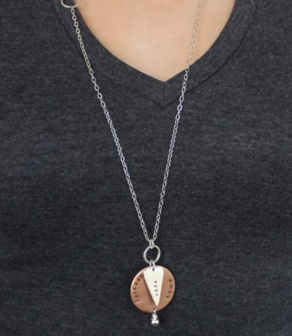 Made in Nevada PTH Round Necklace