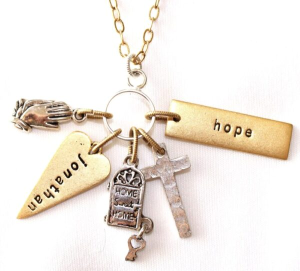 Made in Nevada Cross Charm Necklace