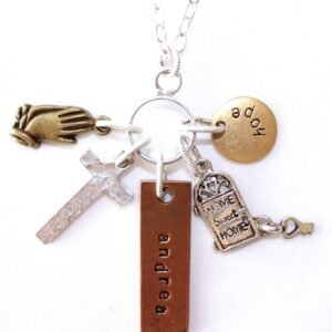 Hope Charm Necklace on Shop Made in Nevada