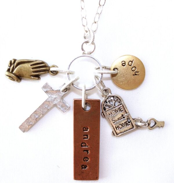Made in Nevada Hope Charm Necklace