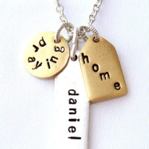 PTH Word Necklace on Shop Made in Nevada