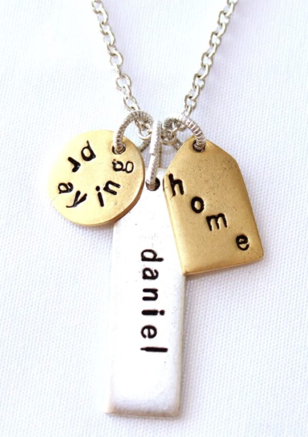 Made in Nevada PTH Word Necklace