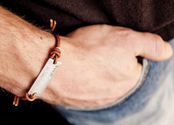 Made in Nevada PTH Leather Cord Bracelet