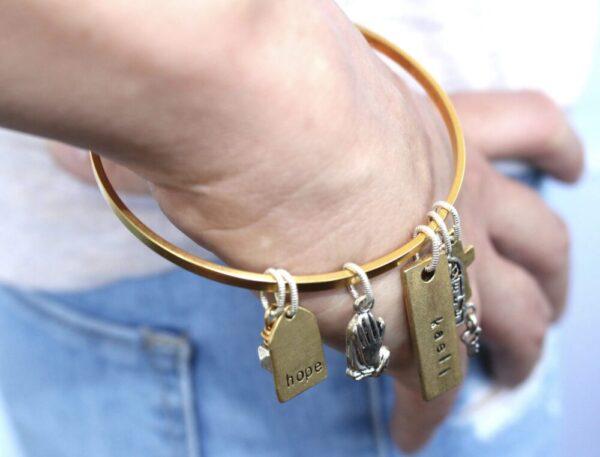 Made in Nevada PTH Flat Bangle Bracelet