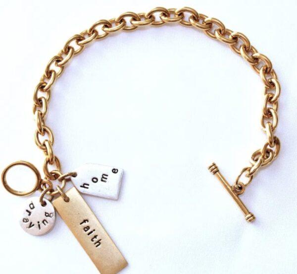 Made in Nevada PTH Charm Bracelet