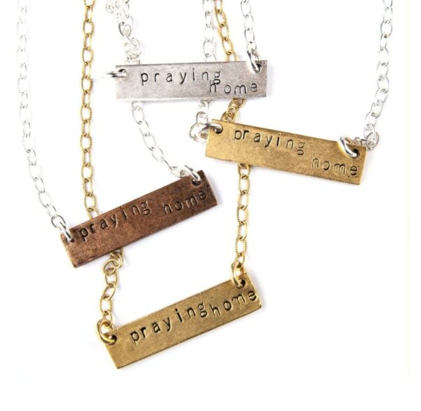 Made in Nevada PTH Bar Necklace