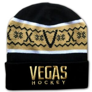 Made in Nevada Vegas Hockey Knit Hat